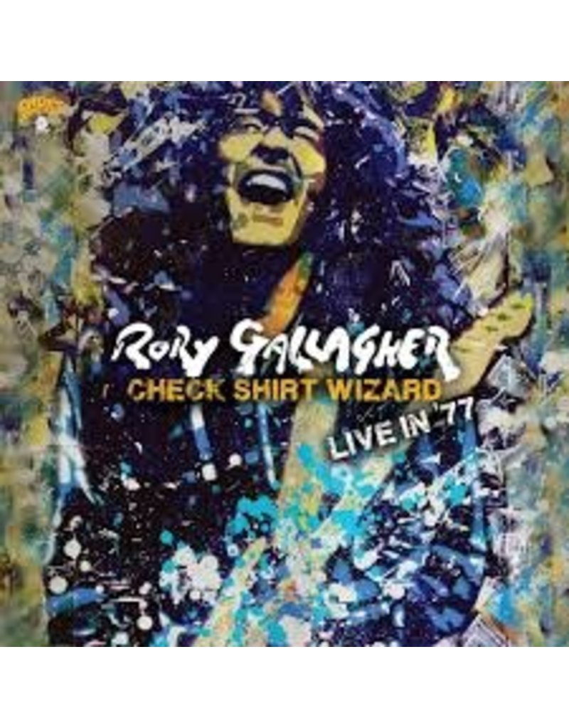 (CD) Rory Gallagher - Check Shirt Wizard - Live In '77 (2CD)