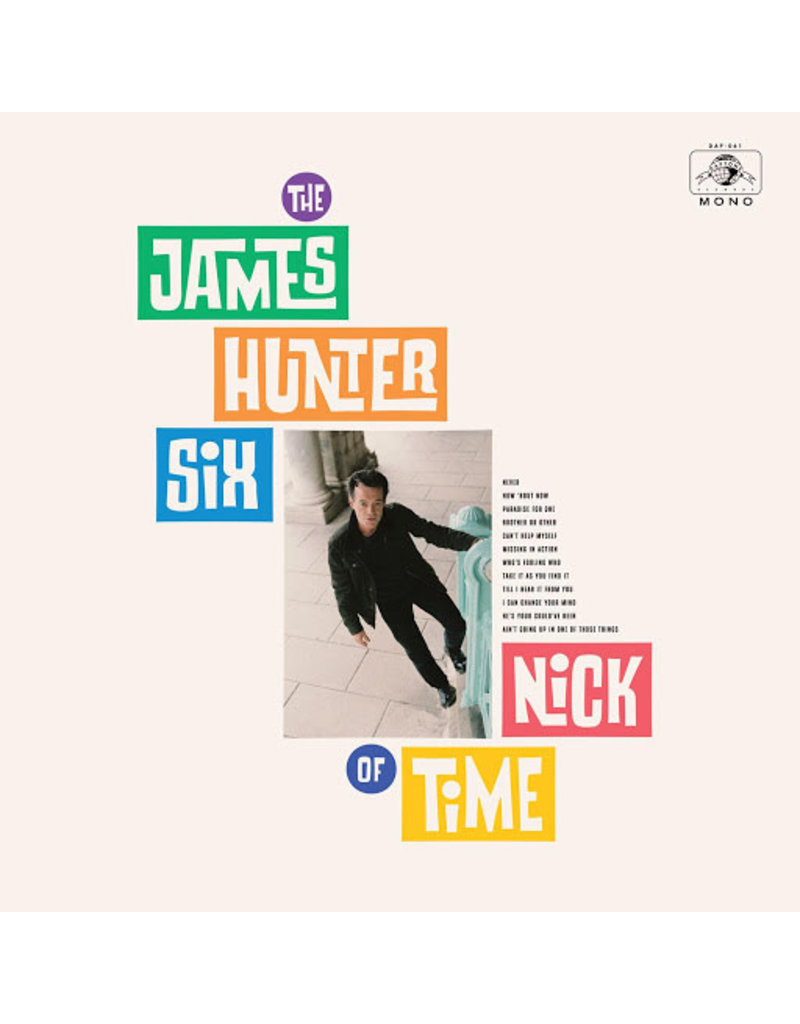 (CD) James Hunter Six - Nick Of Time
