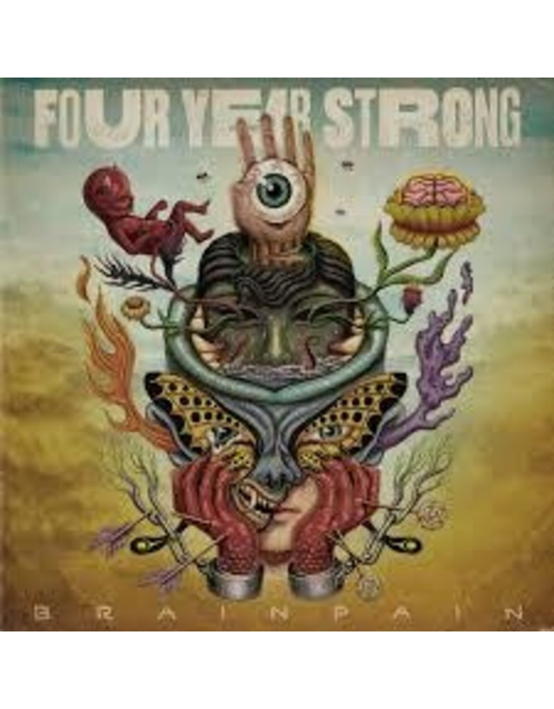(CD) Four Year Strong - Brain Pain
