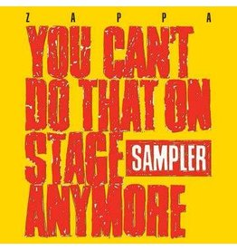 (LP) Frank Zappa - You Can't Do That On Stage Anymore (2LP Yellow & Red) RSD20 (October Drop Day)