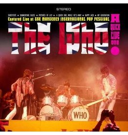 (LP) The Who - A Quick Live One (red/white/blue striped vinyl)RSD20