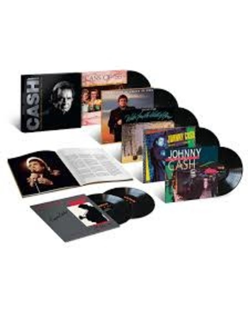 (CD) Johnny Cash - The Complete Mercury Albums 1986-1991 (7CD)
