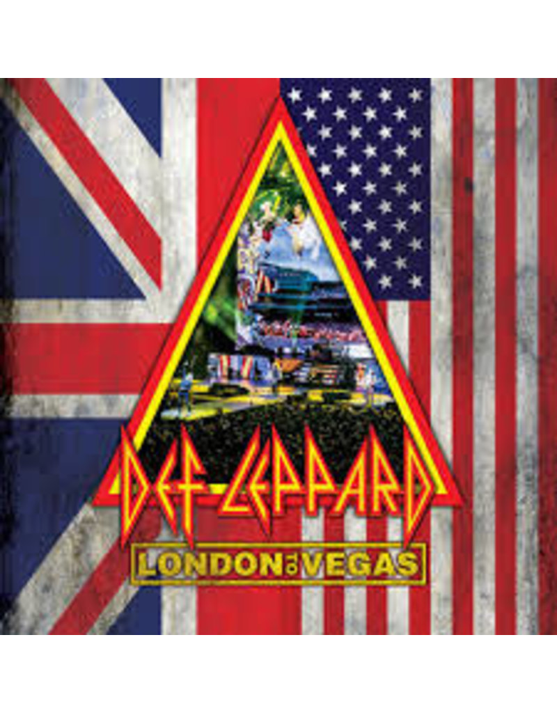(CD) Def LeppardLondon To Vegas (2DVD+4CD)