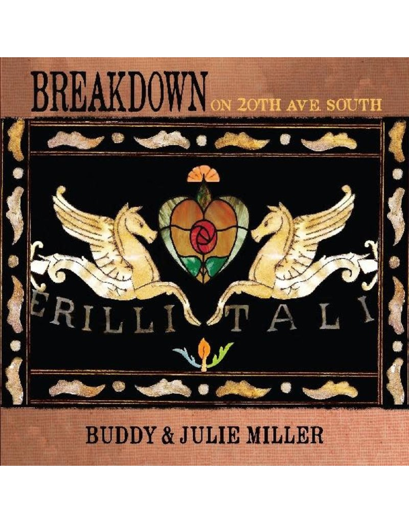 (CD)  Buddy Miller & Julie Miller - Breakdown On 20th Ave. South