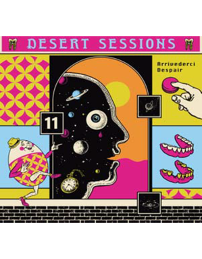 (CD) Various Artists -  Desert Sessions Vol 11 & 12 (Josh Homme)