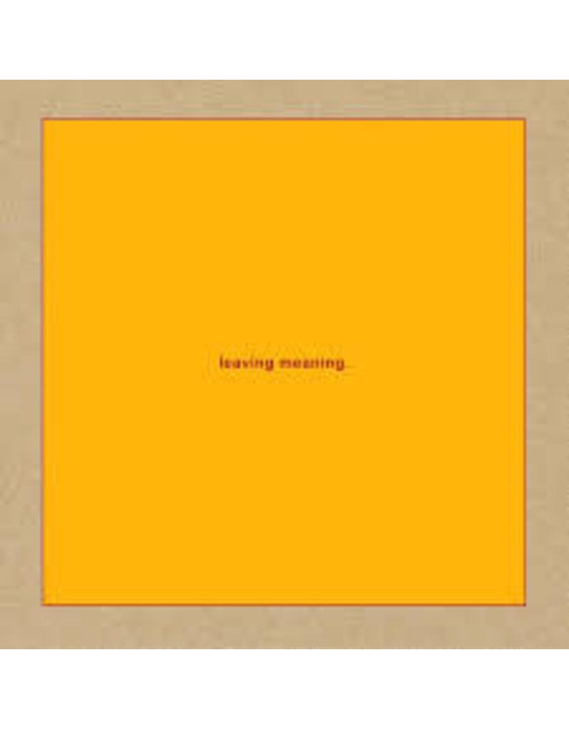 (CD) Swans - Leaving Meaning