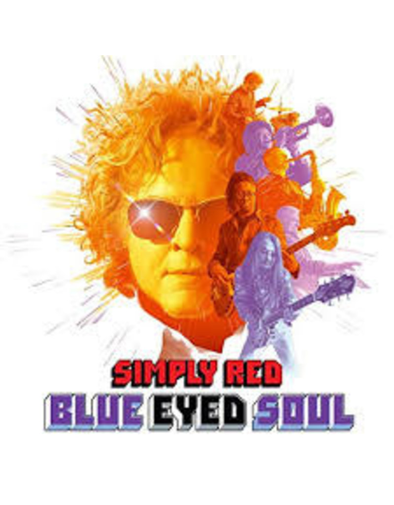 (CD) Simply Red - Blue Eyed Soul