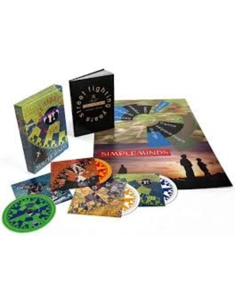 (CD) Simple Minds - Street Fighting Years (4CD/book/box)