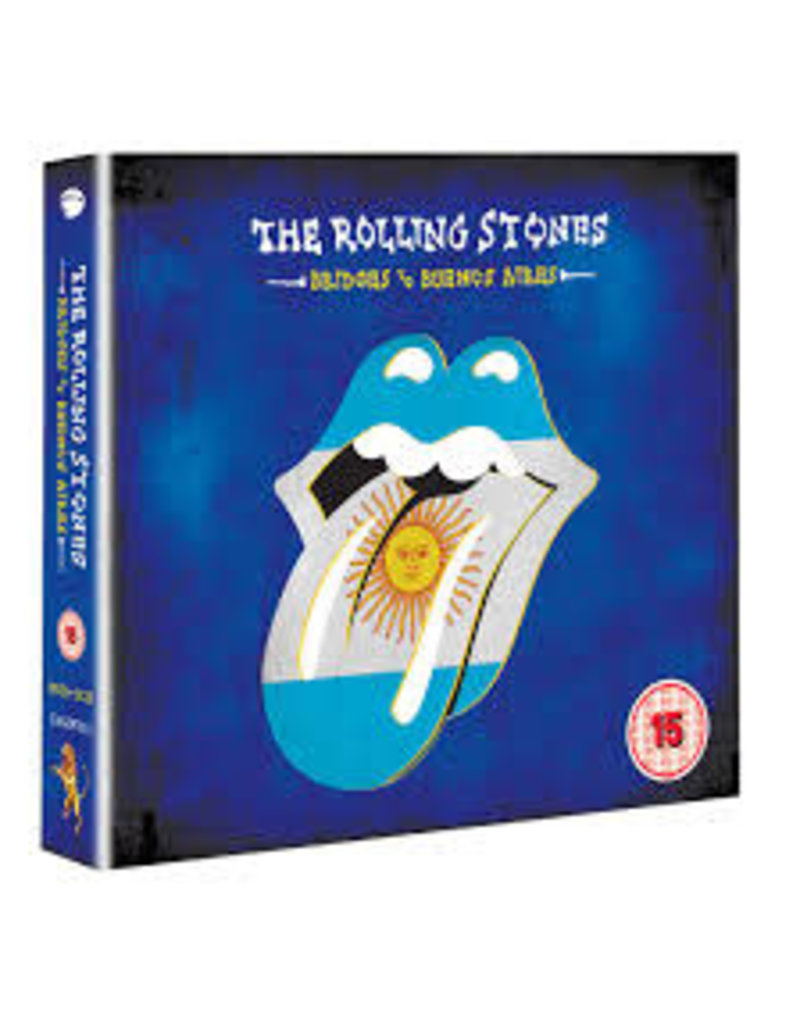 (CD) Rolling Stones - Bridges to Buenos Aires Limited Edition (DVD/2CD)