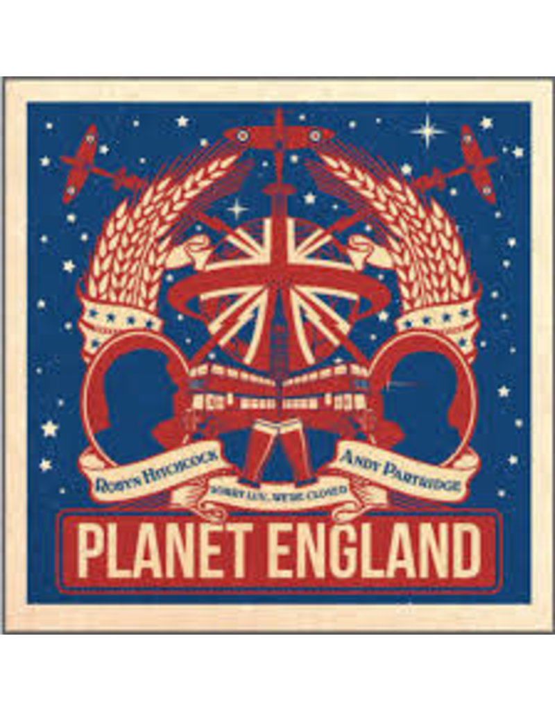 (CD) Robyn Hitchcock & Andy Partridge - Planet England EP