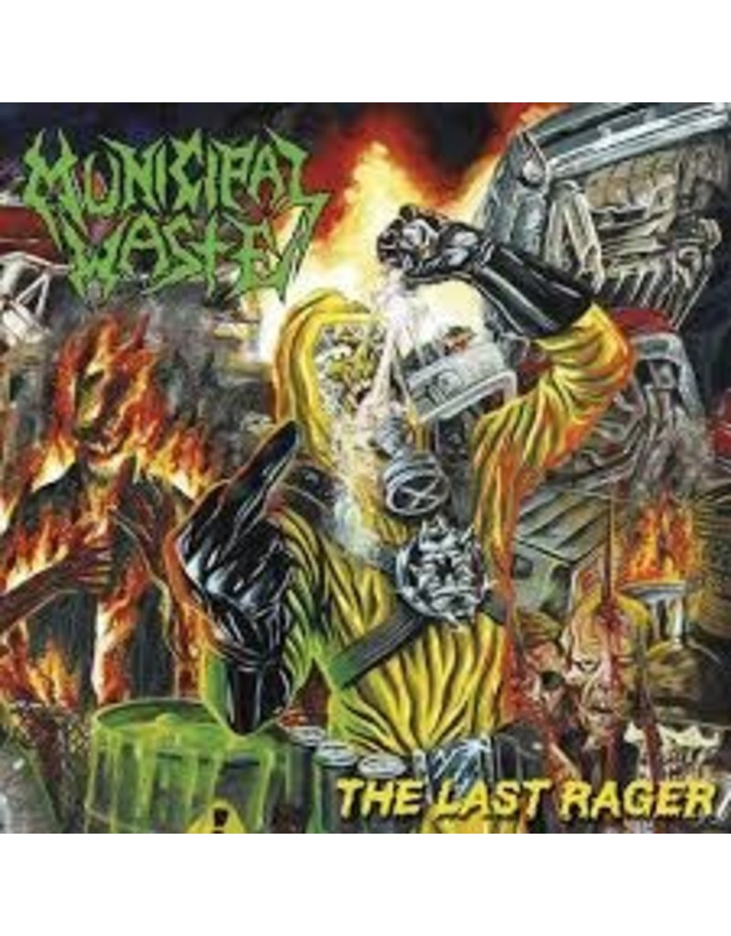(CD) Municipal Waste - The Last Rager