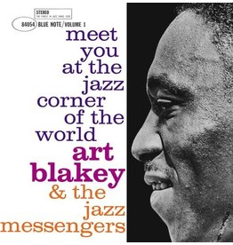(LP) Art Blakey & The Jazz Messengers - Meet You at the Jazz Corner of the World, Vol. 1 (1960)