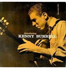 (LP) Kenny Burrell – Introducing Kenny Burrell (Blue Note, 1956)