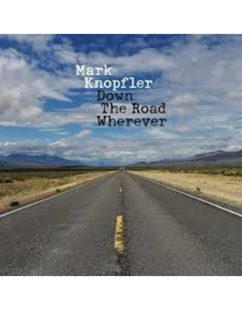 (CD) Mark Knopfler - Down The Road Wherever