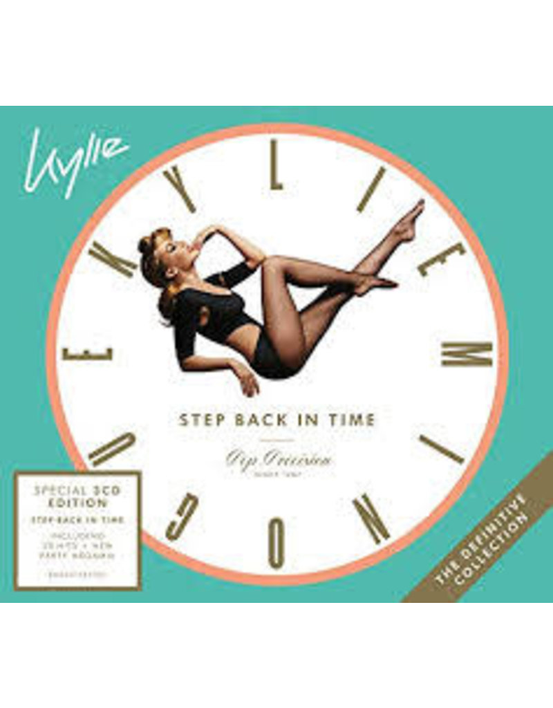 (CD) Kylie Minogue - Step Back In Time: The Definitive Collection (3CD Repack)
