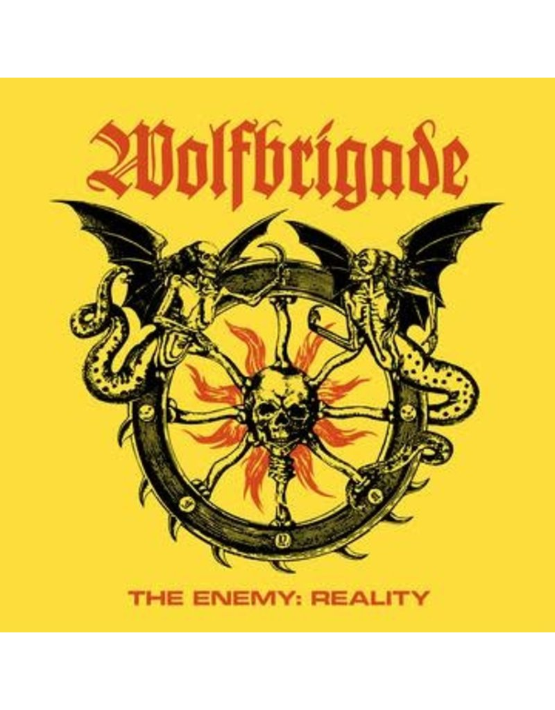 (CD) Wolfbrigade - The Enemy, The Reality