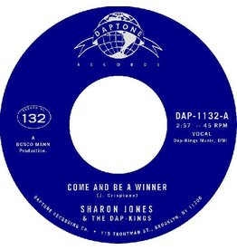 """(LP) Sharon Jones & The Dap-Kings - Come And Be A Winner b/w Come And Be A Winner (7"""")"""