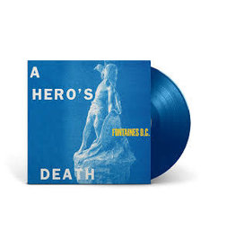 Fontana North (LP) Fontaines DC - A Hero's Death (Blue Vinyl)