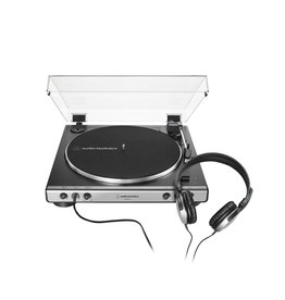AT-LP60XHP-GM Audio Technica Fully Automatic Belt-Drive Turntable with Headphones