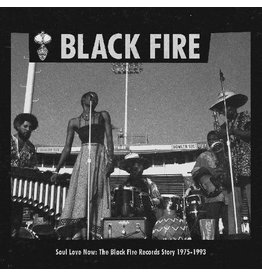 Strut (LP) Various - BLACK FIRE Soul Love Now: The Black Fire Records Story 1975-1993