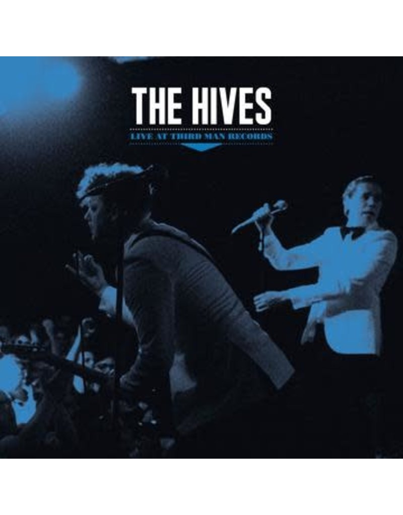 (CD) The Hives - Live At Third Man Records