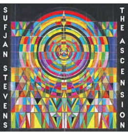 ASTHMATIC KITTY (LP) Sufjan Stevens - The Ascension (2LP Standard Black Vinyl)
