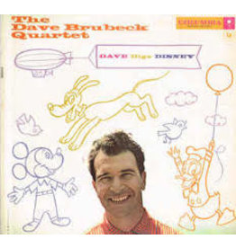 Concord Jazz (LP) Dave Brubeck Quartet - Dave Digs Disney