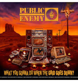 (LP) Public Enemy - What You Gonna Do When The Grid Goes Down