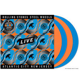 Eagle Rock Ent. (LP) Rolling Stones - Steel Wheels:Atlantic City Live (4LP Coloured vinyl)