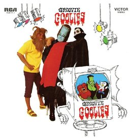 (LP) Groovie Goolies - Groovie Goolies (Limited 50th Anniversary Pumpkin Orange Vinyl Edition)