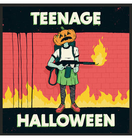 (LP) Teenage Halloween - Teenage Halloween (LIMITED EDITION ORANGE/BLACK VINYL)