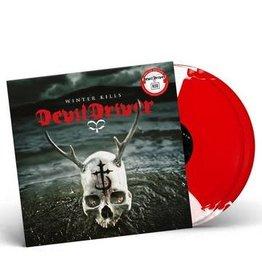 (LP) DevilDriver - Winter Kills (2LP red & white vinyl) RSD20 (October Drop Day)