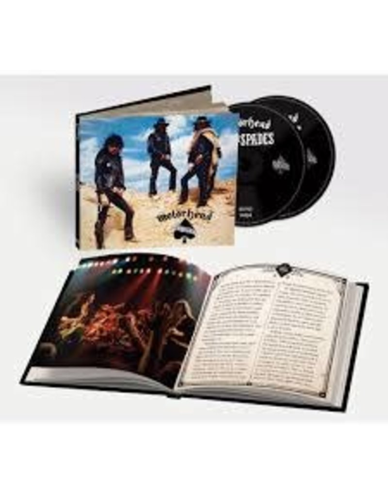 (CD) Motorhead - Ace Of Spades (2CD + Book) 2020 Remaster)