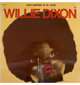 (Used LP) Willie Dixon – What Happened To My Blues SOLD