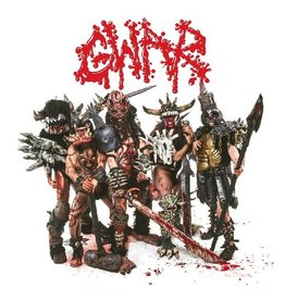 Pit Pound (LP) GWAR - Scumdogs of the Universe (30th Anniversary)(Red Marble)