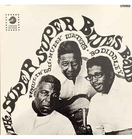 (Used LP) Howlin' Wolf, Muddy Waters, Bo Diddley – The Super Super Blues Band