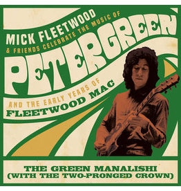 """Black Friday 2020 (LP) Mick Fleetwood and Friends & Fleetwood Mac - Green Manalishi (with the Two Pronged Crown) (Green Vinyl 12"""" EP) BF20 ON SALE!"""