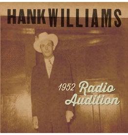 "Black Friday 2020 (LP) Hank Williams - 1952 Radio Auditions (7""/Red) BF20"