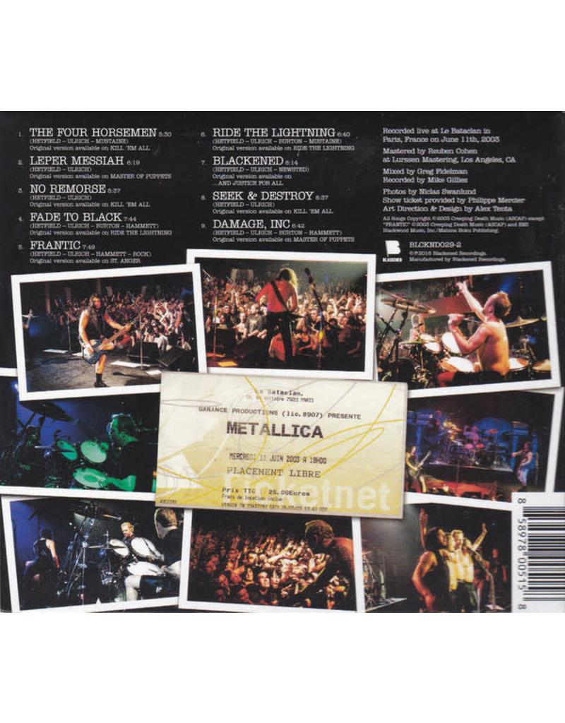 (CD) Metallica - Live at The Bataclan, Paris France 6/11/03 rsd16