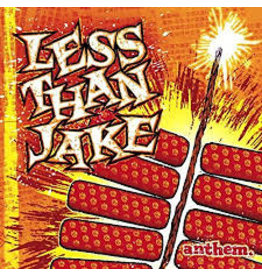 Smartpunk Records (LP) Less Than Jake - Anthem (Yellow & Red/2020 Reissue)