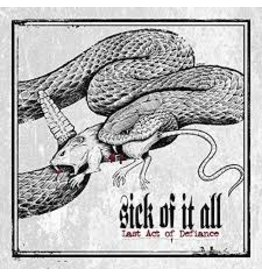 Back on Black (LP) Sick Of It All - Last Act Of Defiance (2020 Reissue)