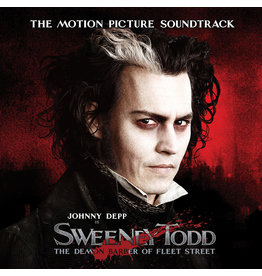 (LP) Soundtrack - Sweeney Todd: The Demon Barber Of Fleet Street