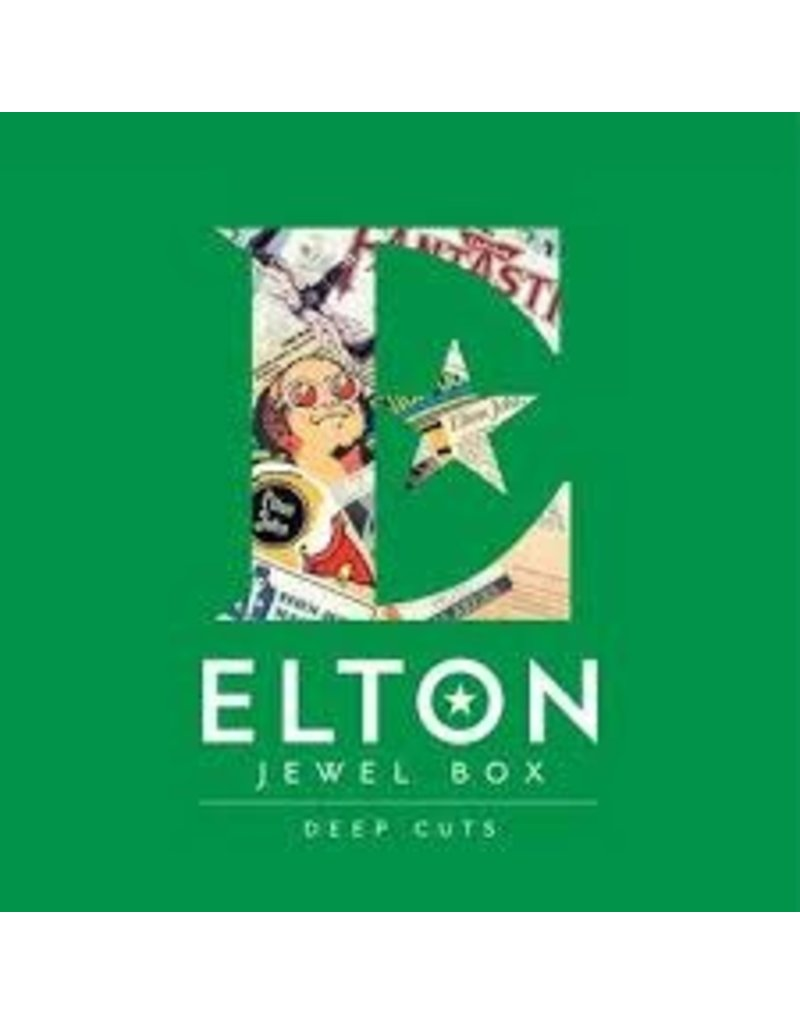 (LP) Elton John - Elton: Jewel Box (4LP - Deep Cuts)