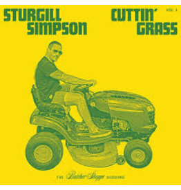 High Top Mountain (LP) Sturgill Simpson -Cuttin' Grass (2LP/Indie Green & Yellow Coloured)