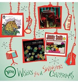 (LP) Various - Verve Wishes You A Swinging Christmas (4LP)