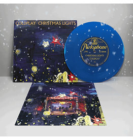 "(LP) Coldplay - Christmas Lights (Blue 7"") ON SALE!"