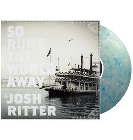 Pytheas Recording (LP) Josh Ritter - So Runs the World Away (Indie Coke Bottle Clear W/Blue Swirl)