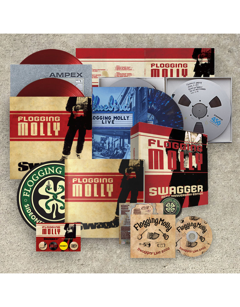 Side One Dummy (LP) Flogging Molly - Swagger (3LP/box/20th anniversary)