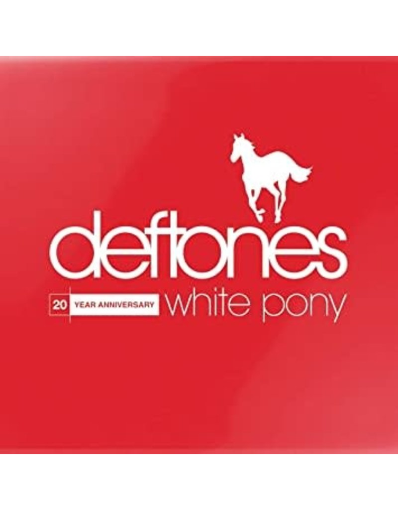 (CD) Deftones - White Pony (20th Anniversary Deluxe Edition)