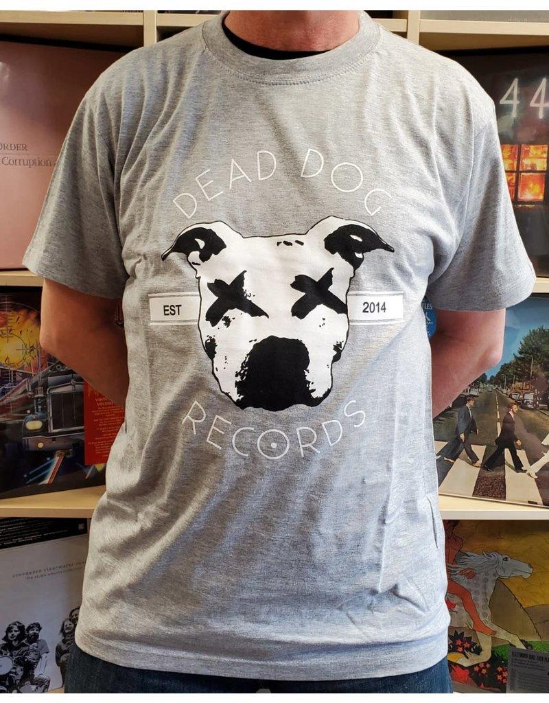 Dead Dog T-Shirt 2019 - Full Logo (Grey) LG